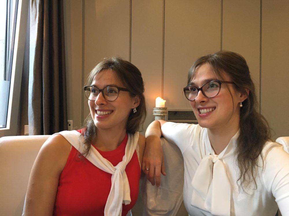 Dr. Monika Brylka und Dr. Heike Grieco